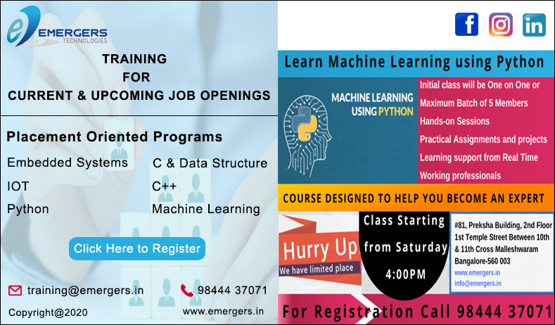Embedded Systems Training In Bangalore Python Training In Bangalore Iot Training In Bangalore C Training In Bangalore